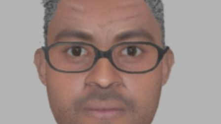 Police have released this e-fit of a man they would like to speak to in connection with an alleged i