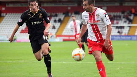 Stevenage won last time out, at home to Crawley Town. Photo: Harry Hubbard