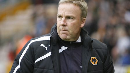 Wolves manager Kenny Jackett. Photo: Kevin Coleman 2013