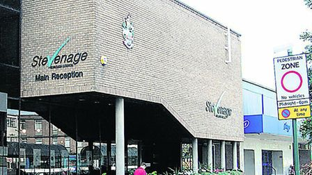 There is a problem with the power supply at Stevenage Borough Council's offices in the town centre