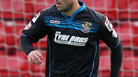 Michael Doughty of Stevenage (on loan from QPR). Photo: Kevin Coleman 2013