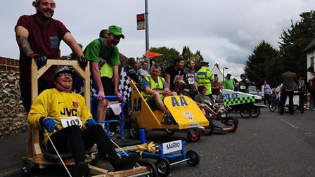 The Soap Box Derby in Duxford
