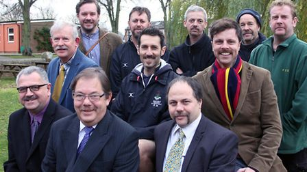 A number of male staff at Friends' School joined the national charity, Movember.