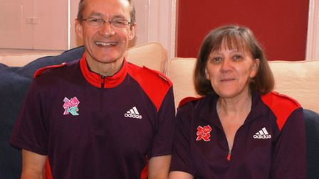 Ian Brown and Belinda Gee from Baldock performed at Wembley at the weekend as part of the Games Make