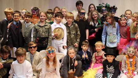 Year 5's performed as part of the Shakespeare Schools Festival in Cambridge last week