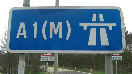 There have been two crashes on the A1(M) this morning