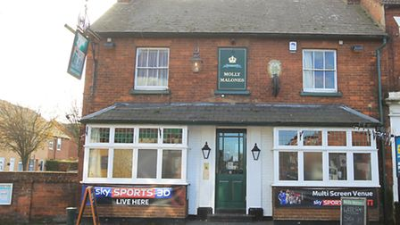 Molly Malones pub in Hitchin is up for sale