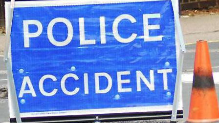 Police were called to a crash on Fairlands Way in Stevenage