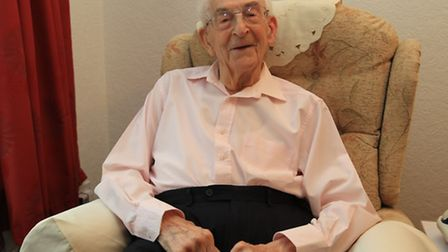 Fred is celebrating his 100th Birthday on Friday