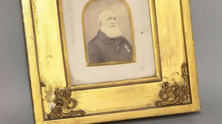 Victorian Naval General service medal awarded to midshipman William Martin plus portrait photo