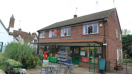 Whitwell Post Office where there was an attempted robbery