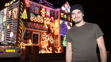 Lights by James Creighton in Grove Road, Stevenage