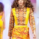 An outfit designed and created by North Hertfordshire College student, Shannon Bradley , being showc