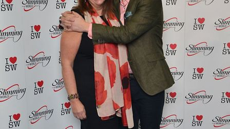 Slimming World Consultant Karen Crouch meets comedian and TV presenter Paddy McGuinness.