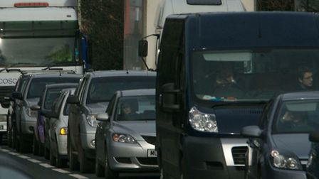 Traffic congestion has been caused by faulty lights