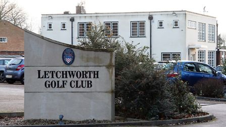 Heavy Goods Vehicles arrived at Letchworth Golf Club on Monday