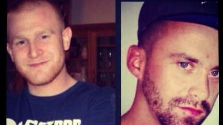 The two people killed in the collison on Sunday have been named locally as John James Mcerlean (Lef