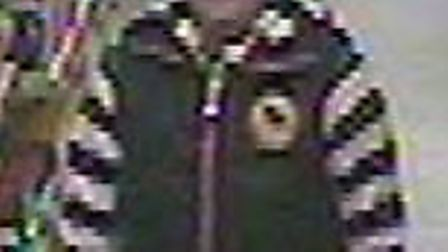 Police want to speak to this woman in connection with a theft at Wilkinsons in Letchworth last week