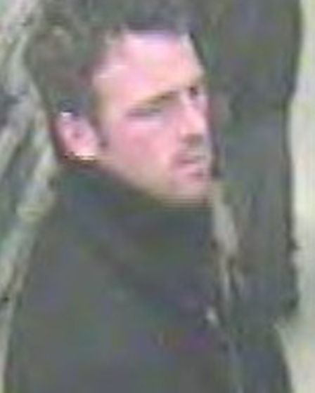 Police want to speak to this man in connection with a theft from Wilkinsons in Letchworth last week