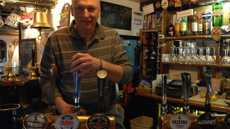 Geoff Bates has returned to The Bell in Wendens Ambo.