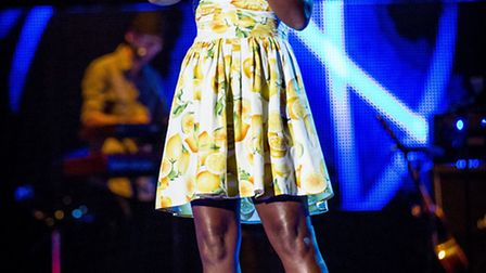 Stevenage singer Milly J will appear on The Voice tonight