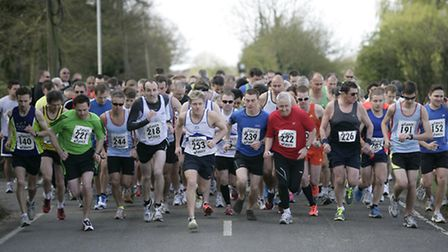 Runners take part in a previous St Clare 10k.