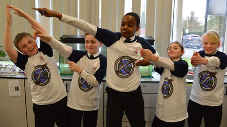 The 'Mission X: Train like an Astronaut' programme took place at Forest Hall School.