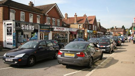 Parking has been a problem in Knebworth High Street and the surrounding area