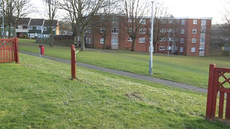 The paddock at Kings Community Church in Letchworth GC is used mainly as a safe play area for childr