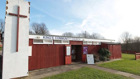 Stolen fences at Kings Community Church in Letchworth