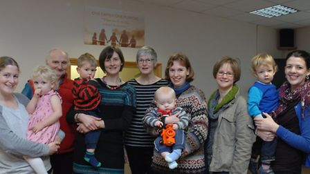 Members for the new Bumps & Babies group.
