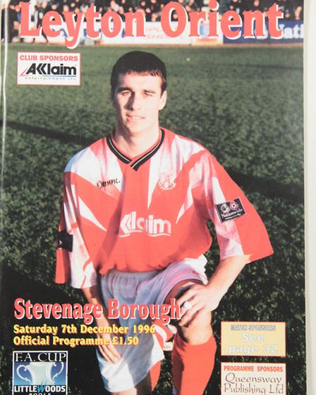A little piece of history from Boro's FA Cup success against Leyton Orient