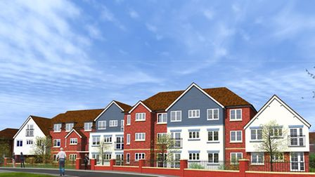 Churchill Retirement's design of 38 homes they want to replace Rileys