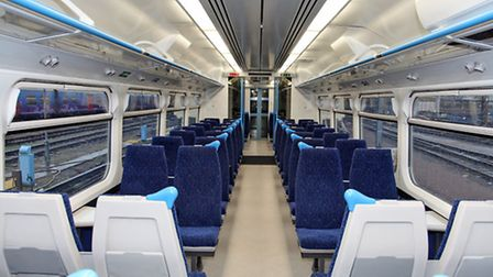 Upgraded First Capital Connect trains