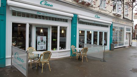 Ciao Cafe in Eastcheap, Letchworth GC, was awarded a five star hygiene rating by the Food Standards