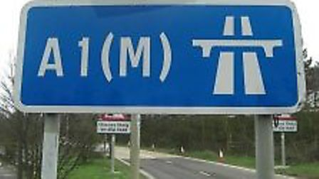 There were delays on the A1(M) this morning