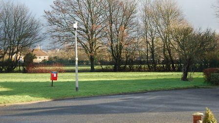 The green on Marlborough Road, Stevenage, could be turned into housing