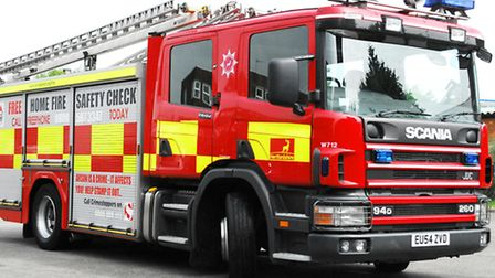 Fire crews were called to attend a lorry fire on Clothall Road, Baldock, this morning (Saturday).