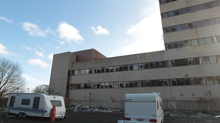 Notices have been served to Hamilton Bradshaw, which own the former Fujitsu building in Stevenage. T