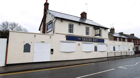 The Sailor Boy pub in Hitchin has been closed down