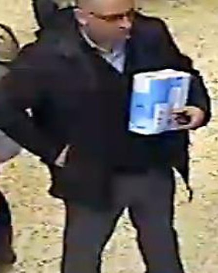 Police wish to identify this man in connection with an incident that occurred in Tesco car park, off