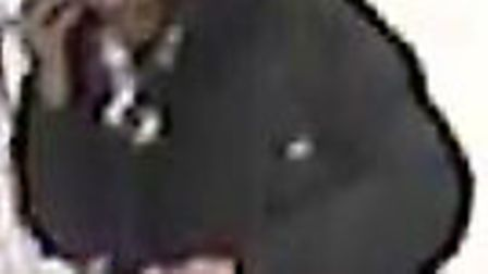 Police want to speak to this man after items were stolen from the Superdrug store in Bancroft, Hitch