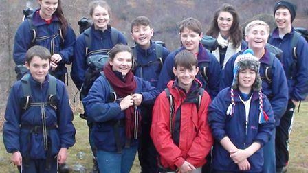 The Year 9 students from Uttlesford were challenged to a once-in-a-life time experience when they at
