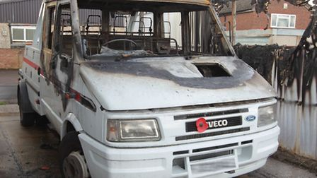 Bert Stevenson's recovery truck was robbed and set alight be thieves