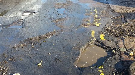 Potholes in Stevenage have been up for discussion