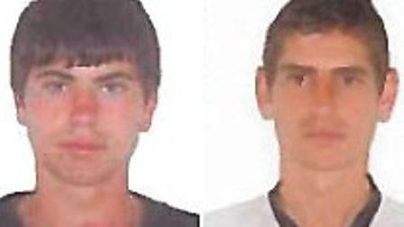 Detectives have also released photographs of two men believed to have been seen in suspicious circum