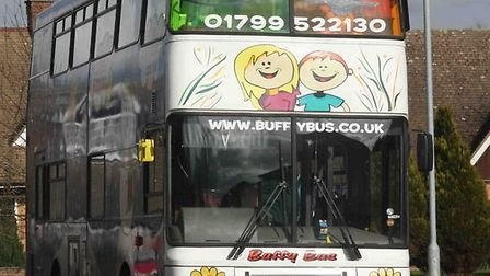 The Buffy Playbus which travels to 15 communities throughout Uttlesford.