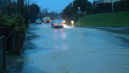Ben Warbey sent these photos in of Thaxted Road, Saffron Walden, taken this morning between 7-7.30am