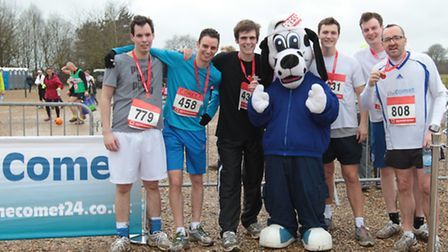 The Comet Team, Harry Hubbard, Nick Gill, Martin Dunne, Sniffer, Oliver Pritchard, James Scott and D
