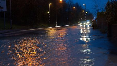 Ben Warbey sent these photos in of Thaxted Road, Saffron Walden, taken last Friday morning (February